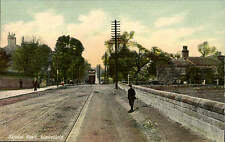 Wakefield. Sandal Road by H. Law, Wakefield. Tram.
