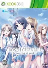 Used Xbox 360 Cross Channel In Memo MICROSOFT JAPAN JP JAPANESE JAPONAIS IMPORT