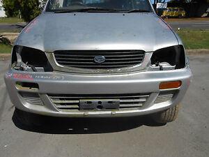 1999 Daihatsu Terios Front Bumper S/N# V6048 (J) BA4726