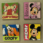 WDW~Mint 2012 PWP Deluxe Pins Set #89885 - Minnie, Mickey, Goofy, Chip+Dale Pin