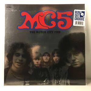 MC5 - The Motor City Five LP (Vinyl, May-2017, Atlantic (Label)) Blue Vinyl NEW