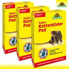 Neudorff Sugan® 3 x 400 g RattenKöder Pad