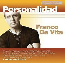 Franco De Vita Personalidad CD+DVD New nuevo sealed