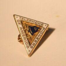 1875-1911 Telephone Pioneers of America Vintage Lapel Pin gift