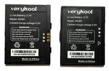 Verykool I250 Cellular Phone Rechargeable Lithium Ion Battery AD381 4.2v Black