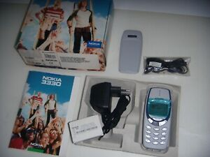 NOKIA 3330 GREY 2001 ORIGINALE LIMITED EDITION PARI AL NUOVO + SCATOLA COMPLETO