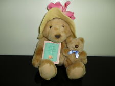 Hallmark BEARNADETTE CUDDLESWORTH & BABY FUZZMORE Bears