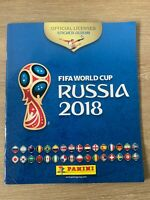 UNUSED Official Panini FIFA Football World Cup Russia 2018 Sticker Album Book