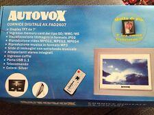 cornice digitale display da 7' autovox