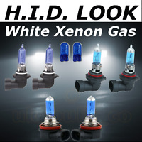 HB4 HB3 H11 100w White Xenon HID Look High Low Fog Beam Headlight Bulb Pack