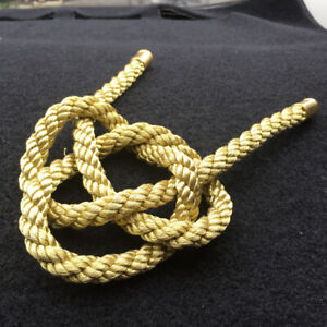 1Pcs Golden JP Kin Rope Chinese Lucky Knot For Car Rearview Mirror Hanging Drop