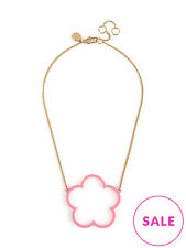 Marc by Marc Jacobs Daisy Window Pendant Necklace, Pink NWT $78