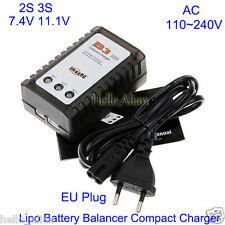 AC 220V 230V iMax B3 2S 3S 7.4V 11.1V Lipo Battery Quadcopter Balancer Charger