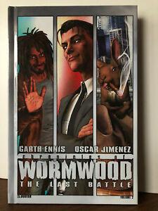 Chronicles of Wormwood Vol 2 The Last Battle HC Garth Ennis Avatar Press Mint