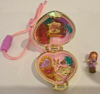 Vintage Polly Pocket BlueBird 1993 Princess Palace Locket Necklace COMPLETE