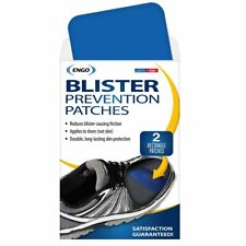 ENGO Rectangle Blister Prevention Patches (2 Patches)   Trim to Fit Boots, Skate