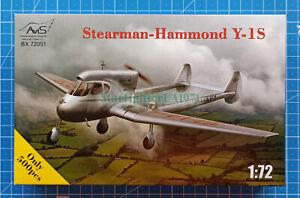 1/72 Stearman-Hammond Y-1S (AviS BX 72051)