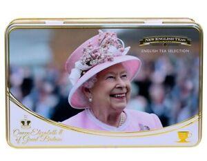 Queen Elizabeth II Tea Tin with 72 tea bags