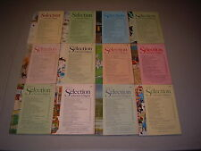 #25 Lot of all 12 months Sélection du Reader's Digest Complete Year 1974