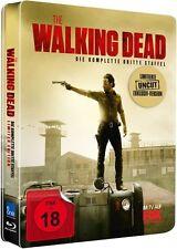 THE WALKING DEAD, Staffel 3 (5 Blu-ray Discs) Jumbo-Steelbook NEU+OVP