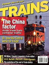 Trains Magazine August 2006 The China factor Asian trade fuels container traffic
