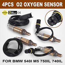 4Pcs O2 Oxygen Sensors For BMW Up//Downstream 95-03 Base Sedan 4.4L B4OS068