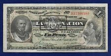 More details for argentina, 1895 one peso banknote (ref. b1146)