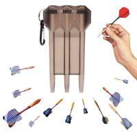 Portable Nylon Dart Case Dart Box for Steel Tip Darts Soft Tip Darts White