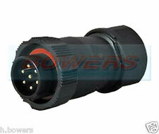 12V/24V 15A DURITE 0-693-56 7 PIN WATERPROOF CONNECTOR PLUG
