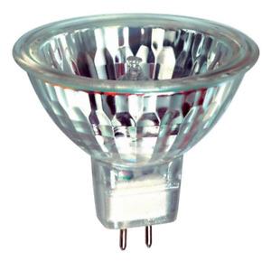 SALE QUALITY 12v 20w  MR16 HALOGEN SPOT LIGHT BULBS GU5.3 50mm DICHROIC Dimmable