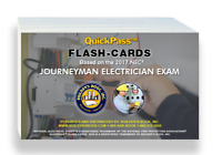 Journeyman Electrician Exam QuickPass Flash-Cards Based on the 2017 NEC