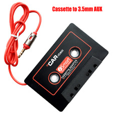 New Car Audio Cassette Tape Adapter 3.5mm Aux Cable For iPhone iPod Android Mp3