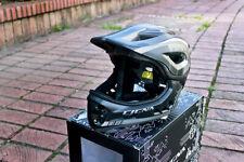CIGNA TT32 Kids Cycling Bike Helmet 2 in 1 Half/Full-Face Detachable Ti-silver S