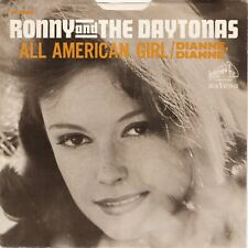 """Ronny & Daytonas """"All American Girl"""" """"Dianne Dianne"""" Record & Picture Sleeve NM"""
