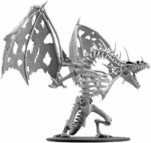 Gargantuan Skeletal Dragon unpainted Deep Cuts D&D Miniature undead dracolich Z