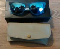 Bluekiki polarized sunglasses with light blue lens