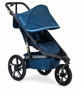BOB Alterrain Pro Jogging Stroller Swivel Front Wheel Baby Jogger Blue NEW