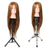 Hair Training Practice Head Mannequin Doll Hairdressing Salon Cosmetology /Stand