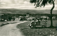Ansichtskarte St. Märgen Schwarzwald Blick zum Feldberg  (Nr.9190)