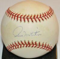 Paul Molitor 1982 Brewers 1993 Blue Jays Twins Autographed AL Baseball Steiner