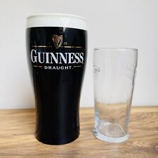More details for guinness beer giant pint glass tip jar bar pub game room man cave irish ireland