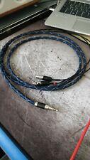 ULTIMATE AUDEZE or ZMF CABLE headphones FURUTECH connectors