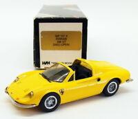 Western Models 1/43 Scale WP107X - Ferrari 246 GT Dino - Yellow