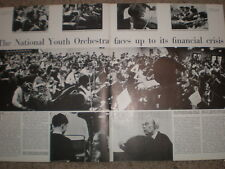 Photo article National Youth Orchestra in financial crisis 1965