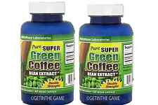 2X Pure SUPER Green Coffee Bean Extract Weight Loss Diet 800mg