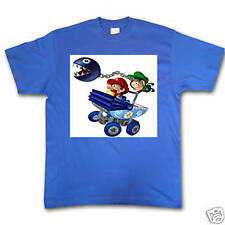 BABY MARIO AND LUIGI BOYS BLUE NINTENDO BROS BROTHERS TSHIRT!