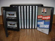 Action Strategies For Personal Achievement - Brian Tracy - 24 CDS + 24 Cassette