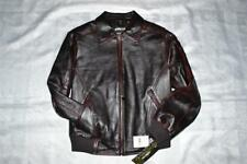 Pelle Pelle Women's Leather Jacket #1020 size 12 Burgundy AUTHENTIC Brand  NEW