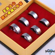 KINGDOM HEARTS 2 II ANELLO RING SORA KAIRI AXEL ROXAS KEYBLADE COSPLAY DISNEY #1