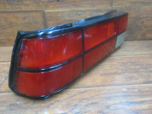 Mazda 626 Sedan: 1981, 1982, Left - Driver Tail Light Assembly